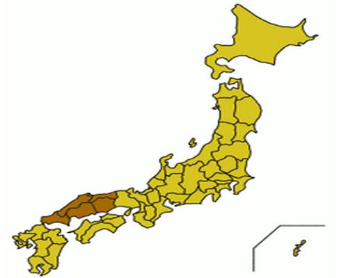 Región de Chugoku